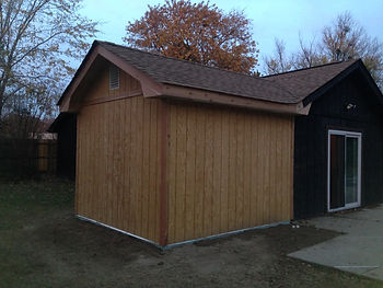 Room addition for an 11'x10' master closet by BEEZ Construction