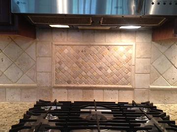custom tile backsplash kitchen remodel