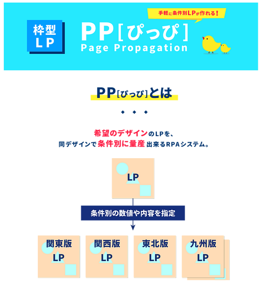 枠型LP:PP画像