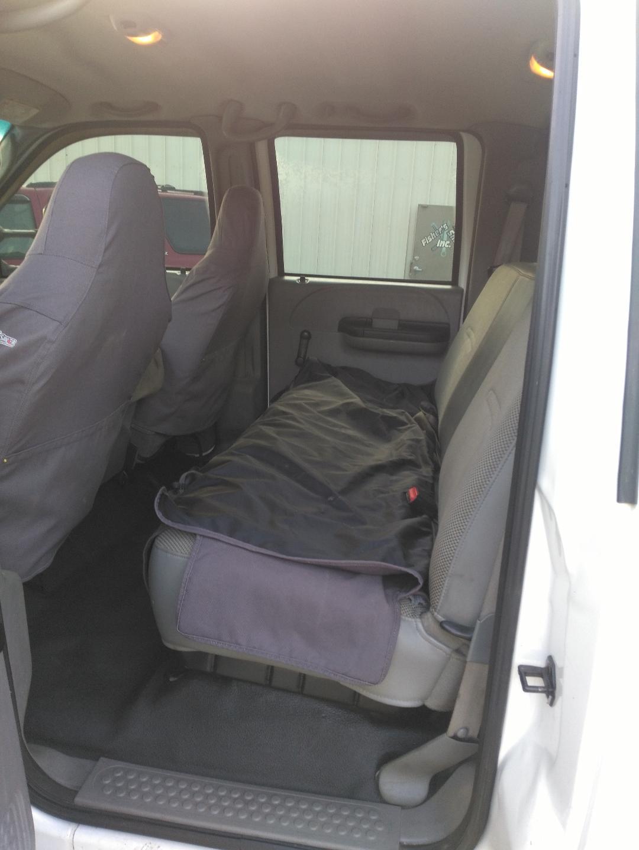 2006 ford f350 rear seat