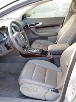 2008 Audi A6 front seat