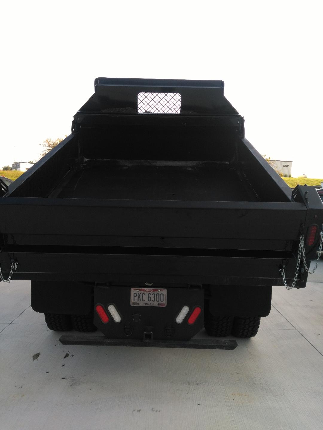 2006 ford f350 dump bed