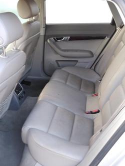 2008 Audi A6 Rear seat