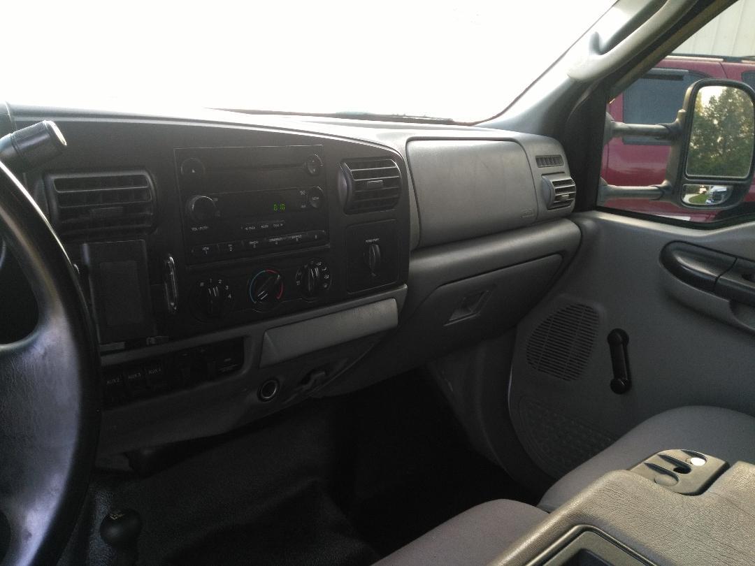 2006 ford f350 dump dash