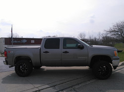 2008 gmc right side