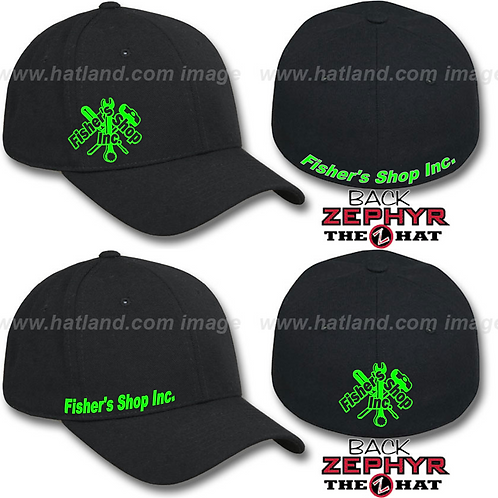 Fisher's Shop Inc. Fitted Flex Fit Hats