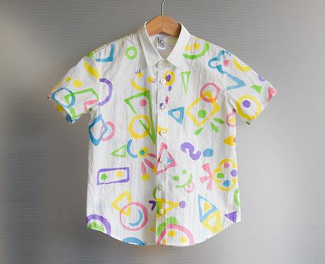 まるさんかくしかくshirts *KIDS*