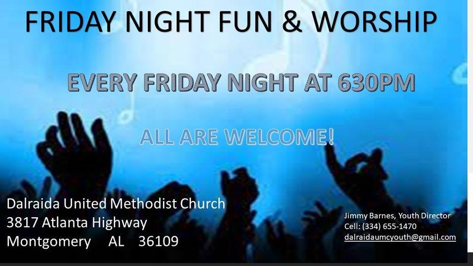 Friday Night Worship & Fun