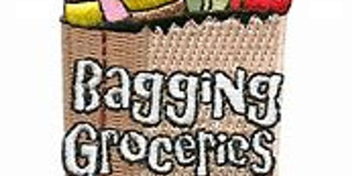 Bagging Groceries Fundraiser