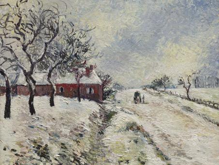 Camille Pissarro: Winter landscapes