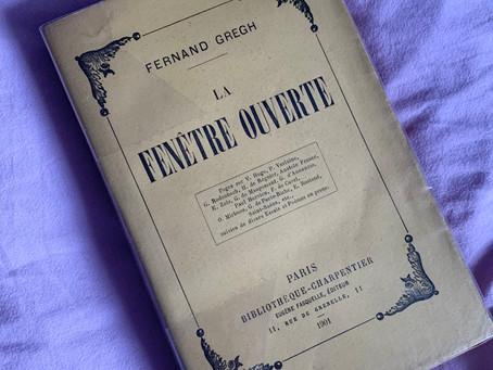 """Avant """"La Recherche"""" de Proust, le court essai """"Mystères"""" de Fernand Gregh"""
