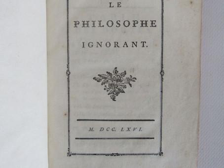 """Voltaire : """"Du meilleur des mondes"""""""