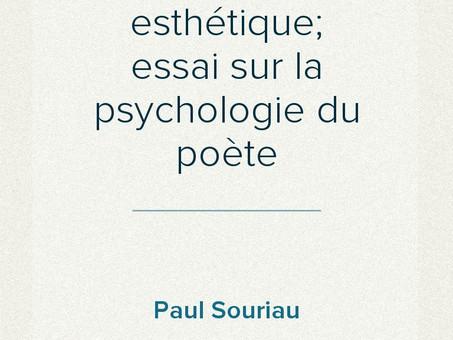 Le rêve et la poésie intérieure, par Paul Souriau