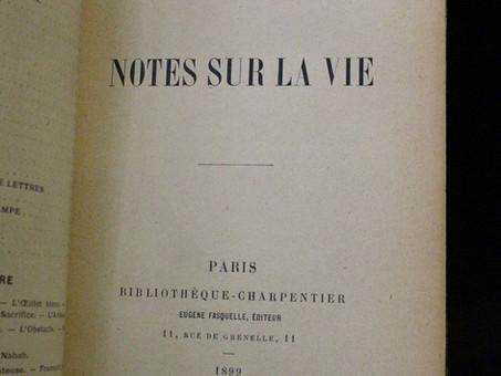 Alphonse Daudet : Notes sur la vie