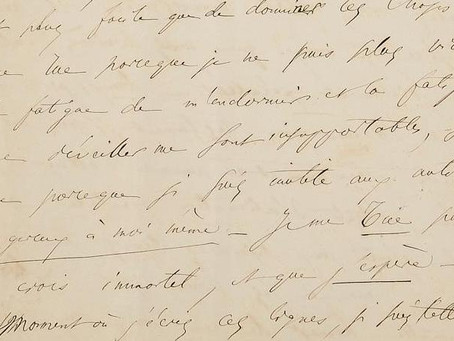 Baudelaire: Two letters of despair