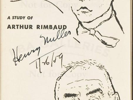 Henry Miller : Rimbaud and Van Gogh