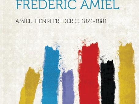 Henri-Frédéric Amiel on Schopenhauer