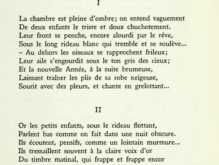 """""""Les étrennes des orphelins"""", par Arthur Rimbaud"""