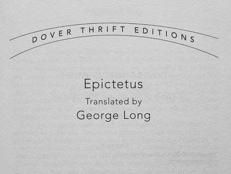 Epictetus: The Manual
