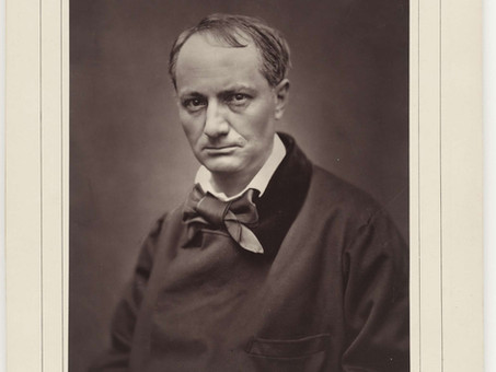 """""""Charles Baudelaire"""", by Théophile Gautier"""