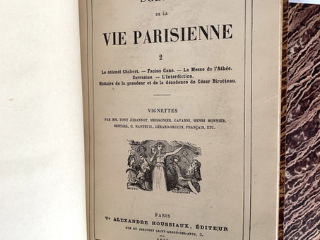 """""""Facino Cane"""", par Honoré de Balzac"""