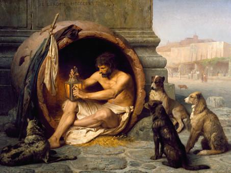Diogène, disciple d'Antisthène (par Paul Hervieu)