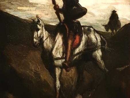 Don Quichotte et Sancho Panza, par Honoré Daumier