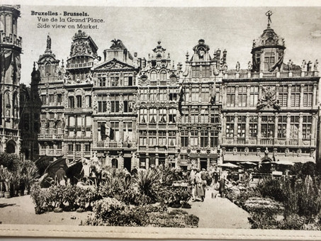 """""""La grande place de Bruxelles"""", par J.K. Huysmans"""