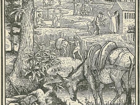 """""""Campement dans l'obscurité"""", par Robert-Louis Stevenson"""
