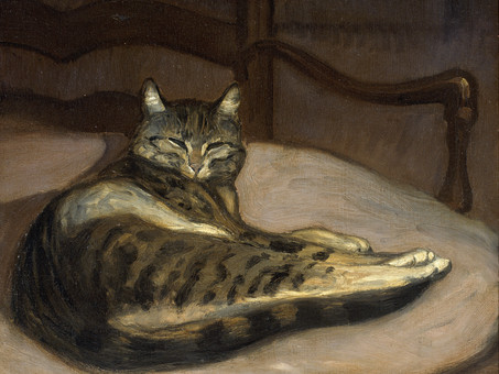 """""""Le Chat"""", par Théodore de Banville"""