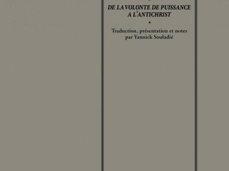Nietzsche: Lettres de Nice