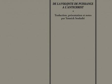 Nietzsche : Lettres de Nice