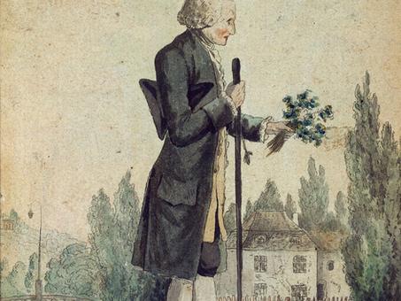 """""""Les rêveries du promeneur solitaire"""", par Jean-Jacques Rousseau"""