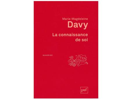 """""""Le voyage de l'âme"""", par Marie-Magdeleine Davy"""