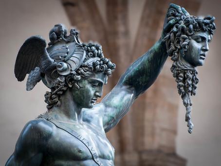 Persée vainqueur de Méduse, par Paul Diel