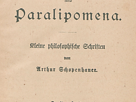 """""""The Porcupine Dilemma"""", by Arthur Schopenhauer"""
