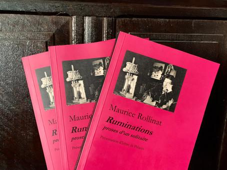 """Les """"Ruminations"""" de Maurice Rollinat rééditées aux Editions du 26 octobre"""