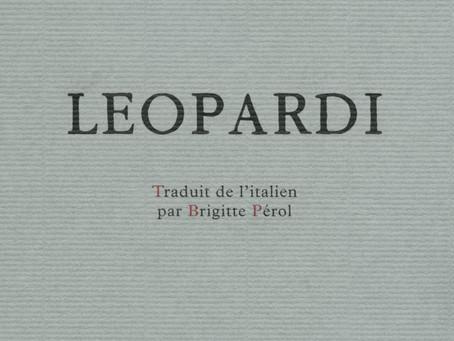 Leopardi et le Royaume des Oiseaux (par Pietro Citati)