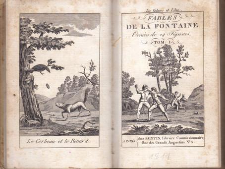 La Fontaine et la psychologie animale