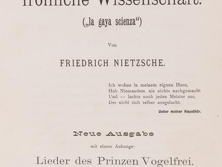 "Nietzsche and the ""Great Health"""