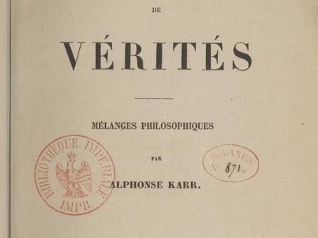 """""""Qu'est-ce que la politesse ?"""", par Alphonse Karr"""