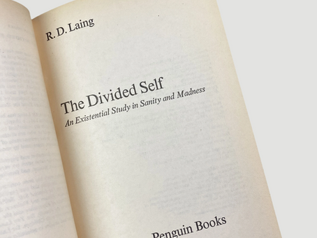 """Ronald D. Laing : """"Ontological insecurity"""""""