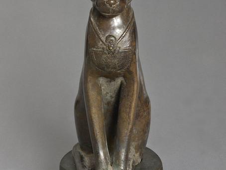 The Goddess as Cat