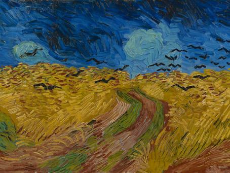 Antonin Artaud et Les Corbeaux de Van Gogh