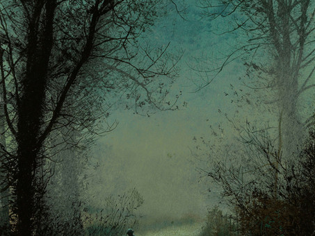 """""""Moonlits"""", by Atkinson Grimshaw"""