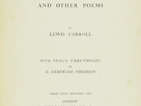 """""""Solitude"""", by Lewis Carroll"""