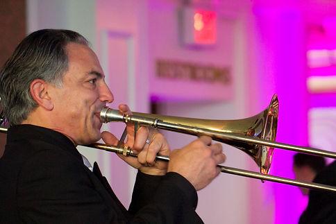 Jazz trombone vocalist Gerard Carelli