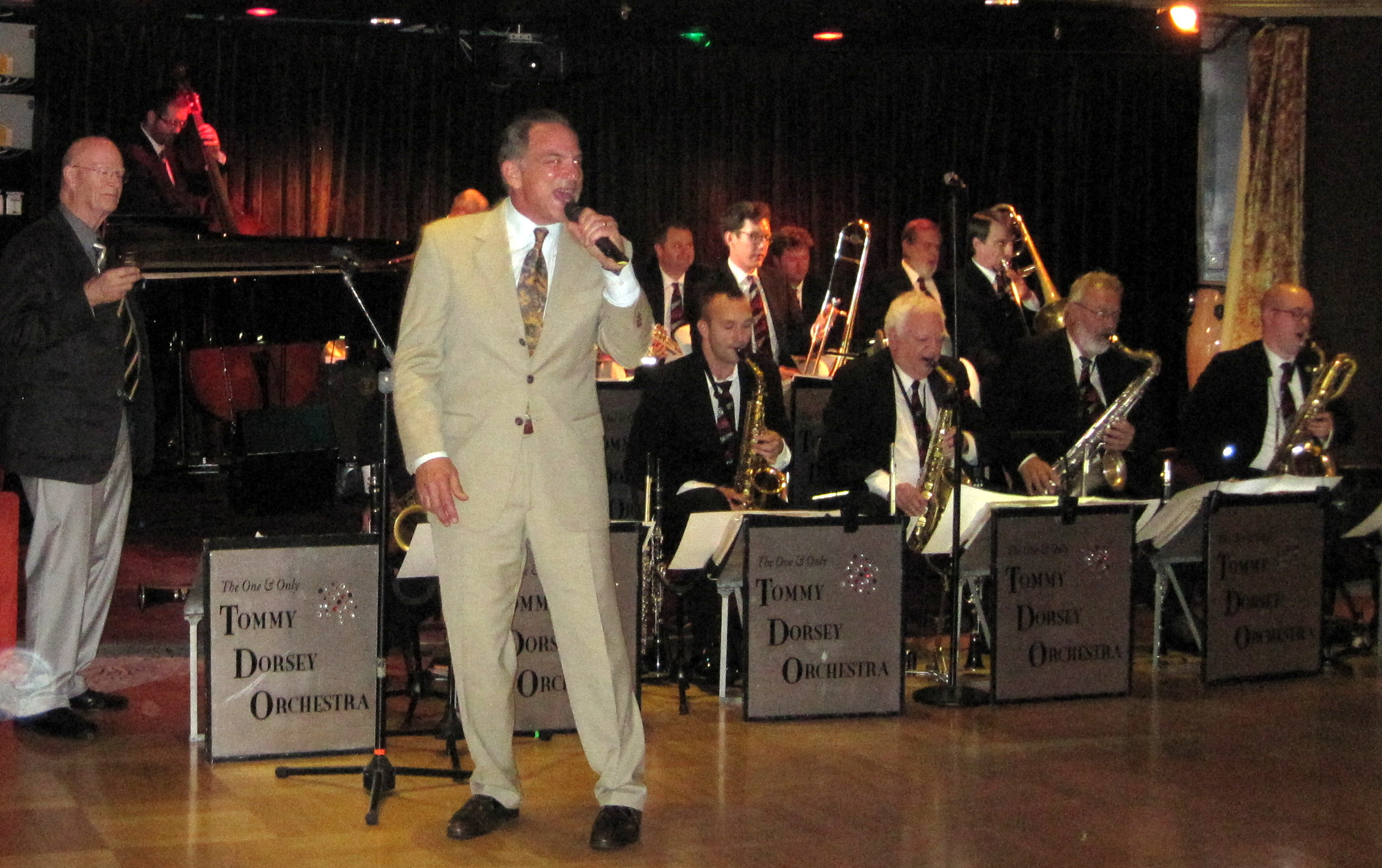 Gerard Carelli w/ Tommy Dorsey Band