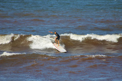Surfing At The Cove
