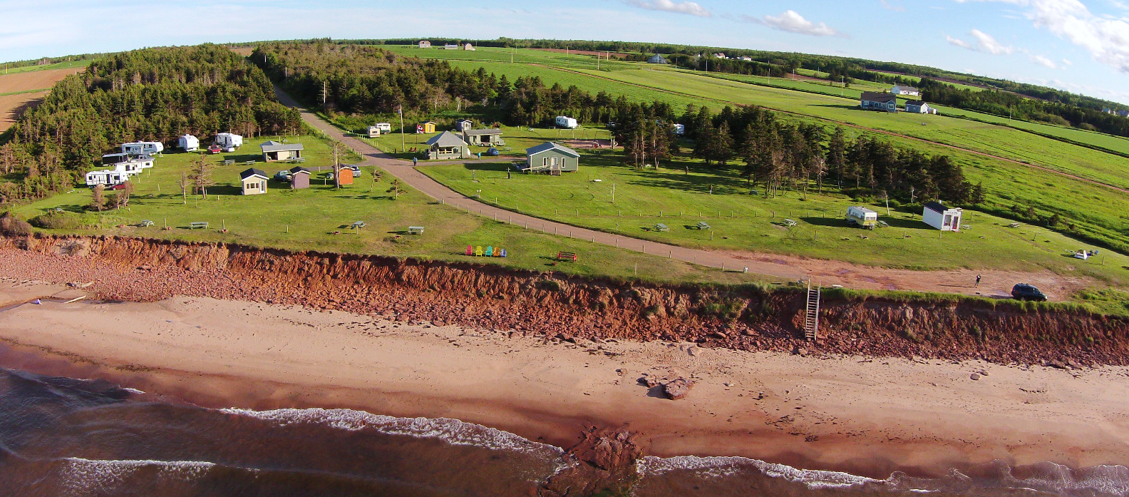 Campbell's Cove Campground, Prince Edward Island, family vacation